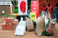 Some of the items that Airtel donated