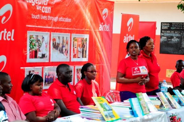 Airtel Uganda CSR Manager Mrs. Charity Bukenya at a recent event