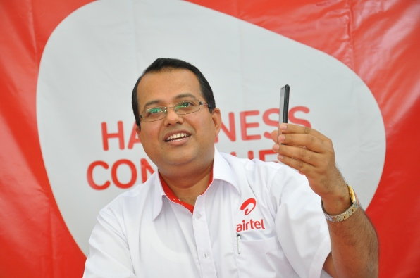 Airtel Uganda Marketing Directore Prasoon Lal