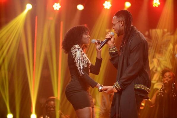 Juliana and Flavor perform 'Nakupenda' during Coke Studio Season Three